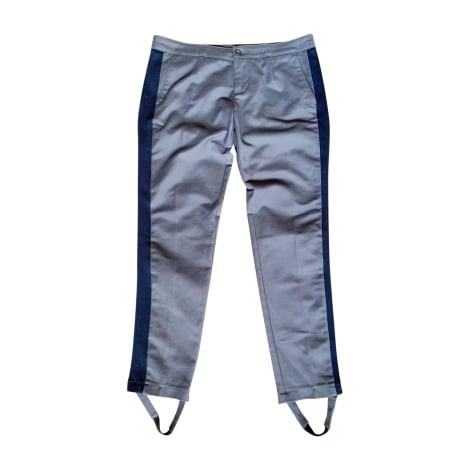 Pantalon carotte SEE BY CHLOE Gris, anthracite