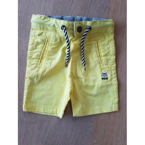Bermuda Shorts IKKS Yellow