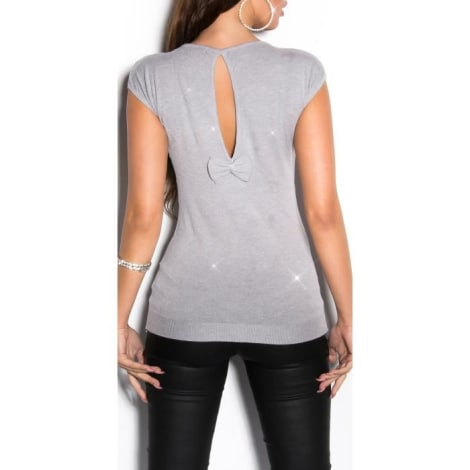 Pull KOUCLA Gris, anthracite