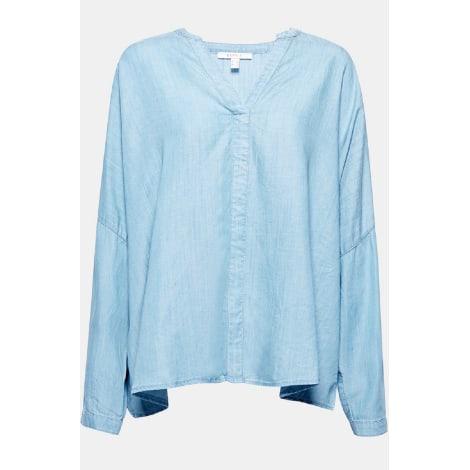 Blouse ESPRIT Bleu, bleu marine, bleu turquoise
