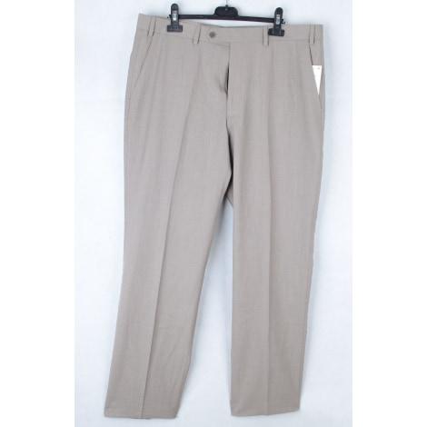 Pantalon droit RALPH LAUREN Marron