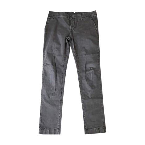 Pantalon droit JACOB COHEN Marron