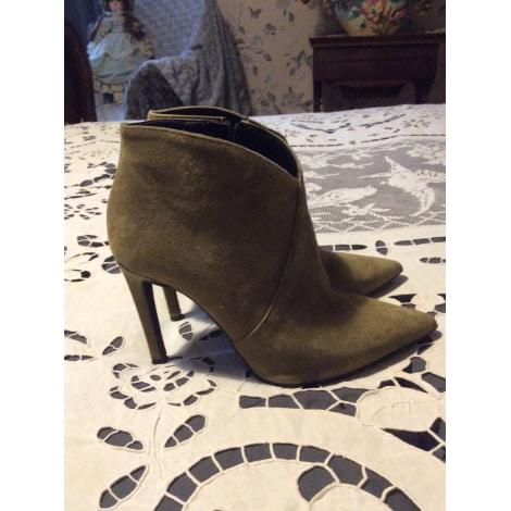 Bottines & low boots à talons MAI PIU SENZA Kaki
