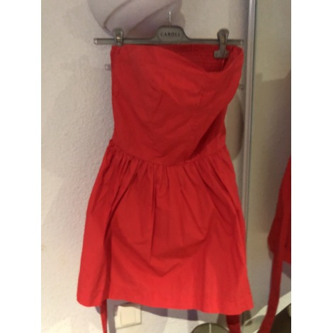 Robe bustier PEPE JEANS Corail