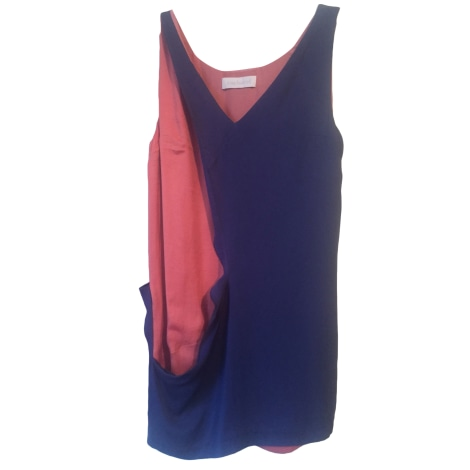 Robe mi-longue CACHAREL Bleu, bleu marine, bleu turquoise