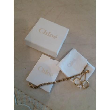 Bracelet CHLOÉ Doré, bronze, cuivre