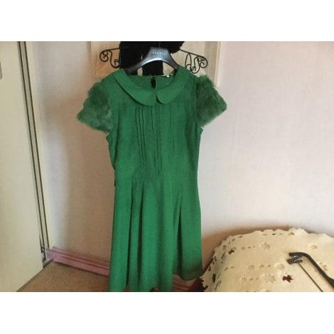 Robe courte DEBY DEBO Vert