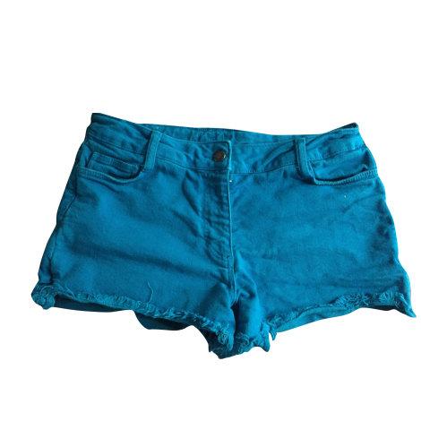Short SANDRO Bleu, bleu marine, bleu turquoise
