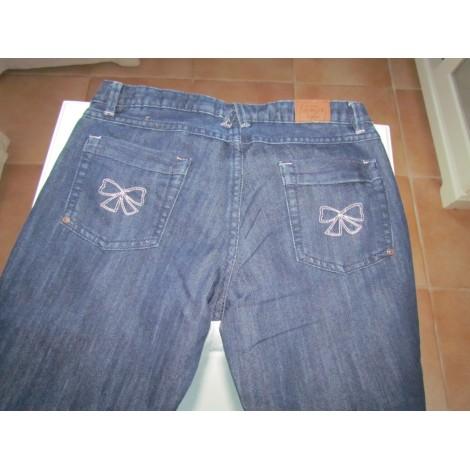 Jeans droit SERGENT MAJOR Bleu, bleu marine, bleu turquoise