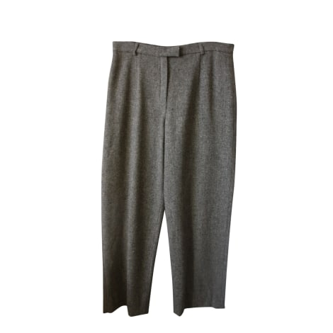Pantalon droit WEEKEND MAX MARA Marron
