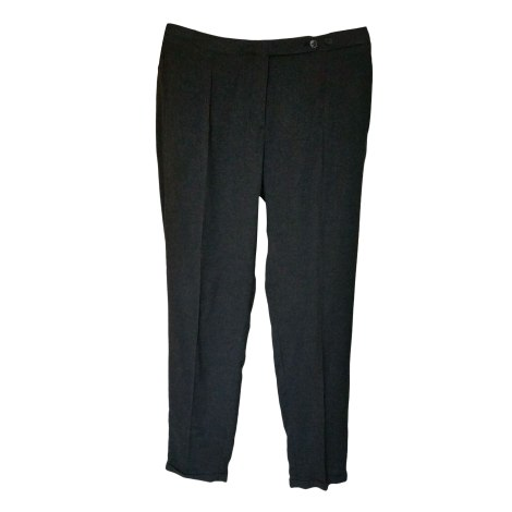 Pantalon droit BELLEROSE Gris, anthracite