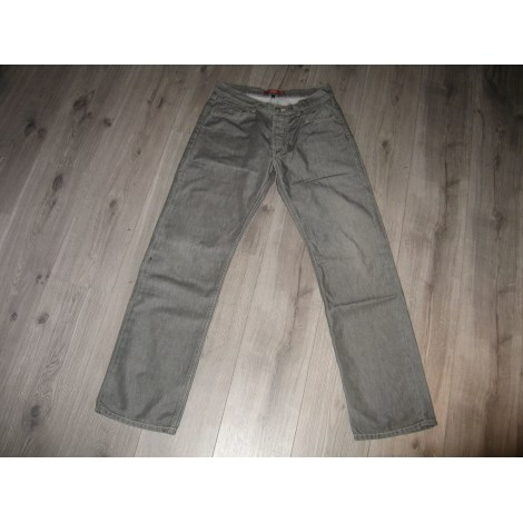 Jeans droit TEDDY SMITH Gris, anthracite