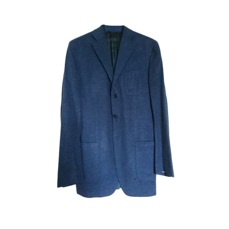Veste ERMENEGILDO ZEGNA Bleu, bleu marine, bleu turquoise