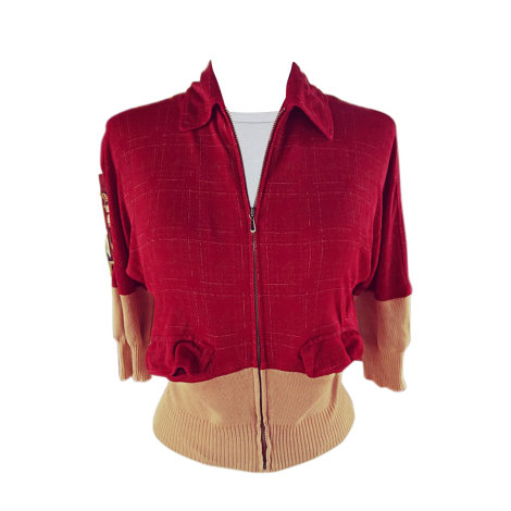 Gilet, cardigan JEAN PAUL GAULTIER Rouge, bordeaux