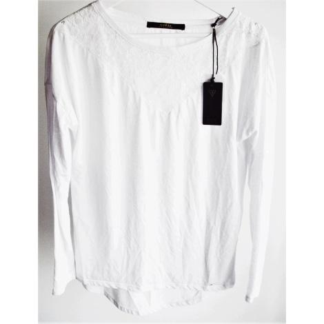 Blouse GUESS Blanc, blanc cassé, écru