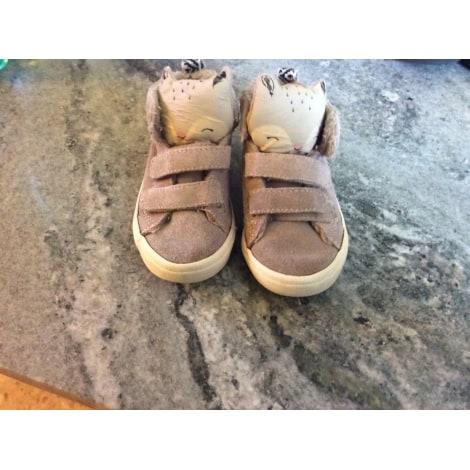 Sneakers ZARA BABY Beige, camel