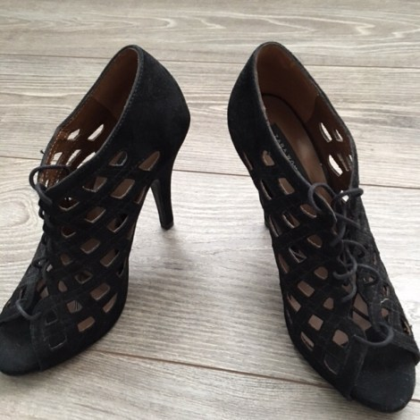 Sandales à talons ZARA Noir