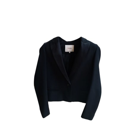 Blazer, veste tailleur MAJE Noir