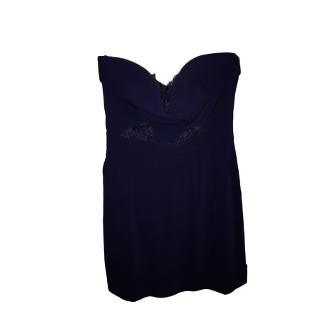 Robe bustier THE KOOPLES Bleu, bleu marine, bleu turquoise