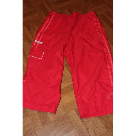 Pantalon ADIDAS Rouge, bordeaux