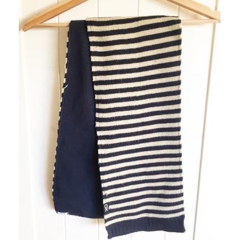Scarf OKAÏDI Blue, navy, turquoise