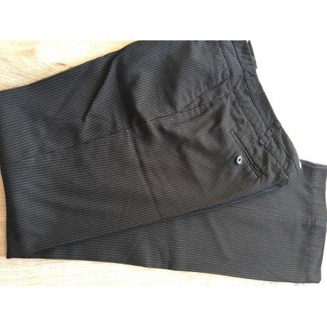 Straight Leg Pants CACHE CACHE Black