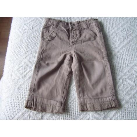 Pantalon TAPE À L'OEIL Beige, camel