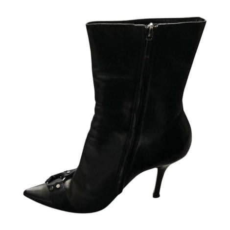 Bottines & low boots à talons DIOR Noir