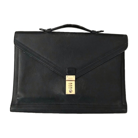 Porte document, serviette BALLY Noir