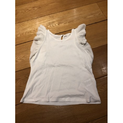 Top, Tee-shirt CHLOÉ Blanc, blanc cassé, écru