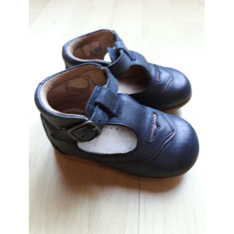 Chaussures à boucle JACADI Bleu, bleu marine, bleu turquoise