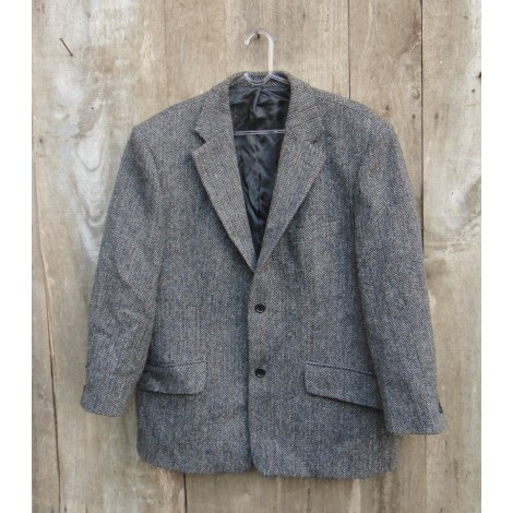 Veste HARRIS TWEED Gris, anthracite