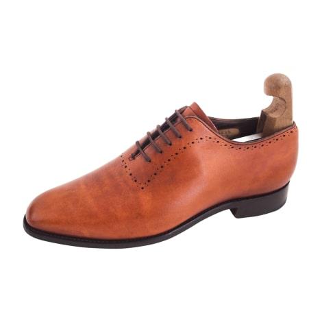 Chaussures à lacets BARKER Marron