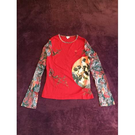 Top, tee-shirt ETAM Rouge, bordeaux