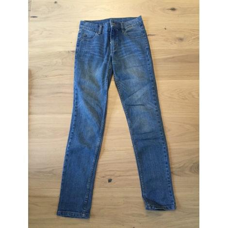 Pantalon droit CHEAP MONDAY Bleu, bleu marine, bleu turquoise