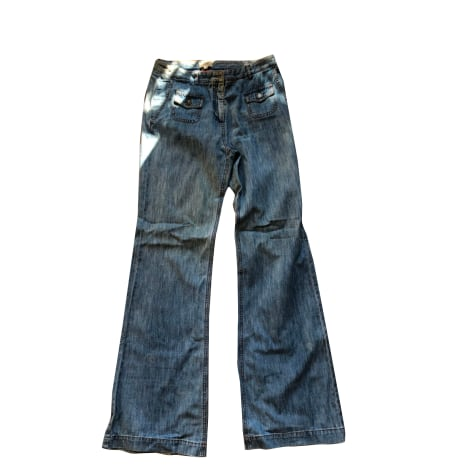 Jeans très evasé, patte d'éléphant PABLO PAR GÉRARD DAREL Bleu, bleu marine, bleu turquoise