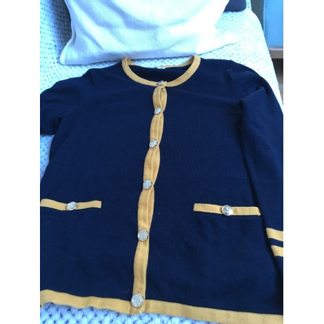 Gilet, cardigan CLAUDIE PIERLOT Bleu, bleu marine, bleu turquoise