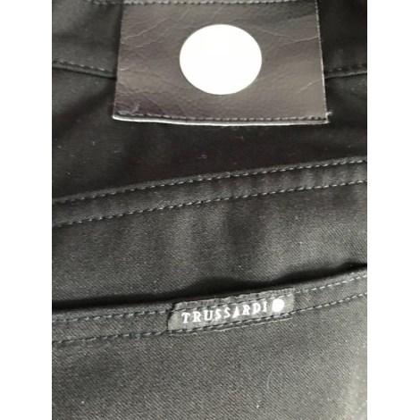 Pantalon droit TRUSSARDI JEANS Noir