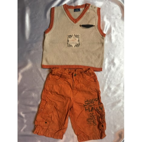 Shorts Set, Outfit SERGENT MAJOR Orange