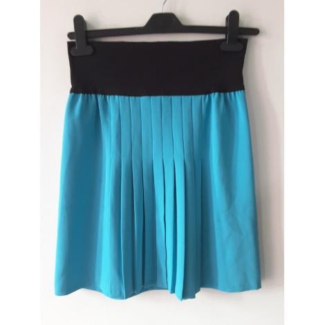 Jupe courte AGNÈS B. Bleu, bleu marine, bleu turquoise