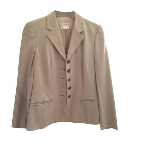 Blazer, veste tailleur ESCADA Beige, camel