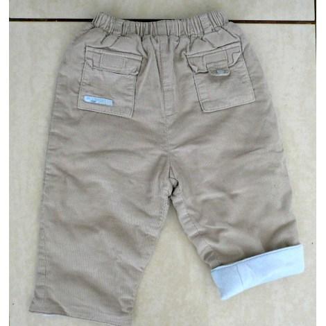 Pantalon NATALYS Beige, camel