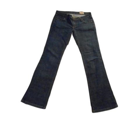 Jeans évasé, boot-cut SANDRO Bleu, bleu marine, bleu turquoise