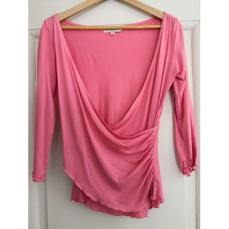 Top, tee-shirt LES PETITES... Rose, fuschia, vieux rose