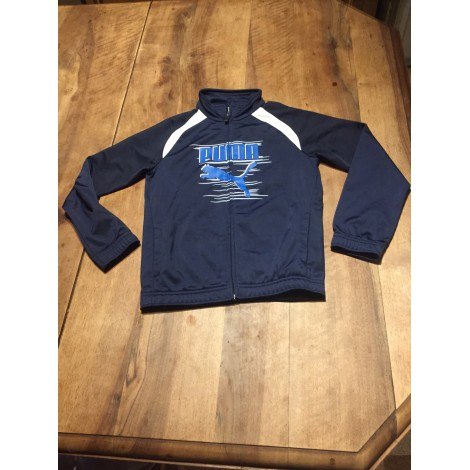 Tracksuit Top PUMA Blue, navy, turquoise