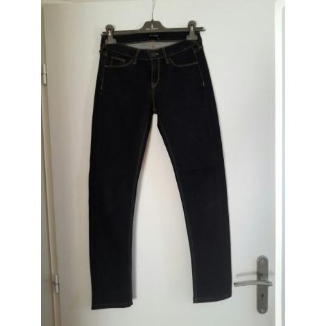 Jeans slim COP-COPINE Gris, anthracite
