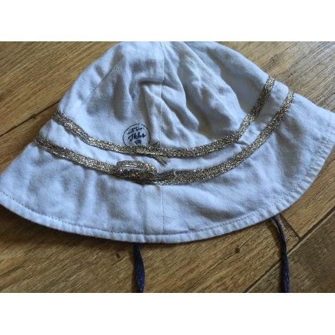 Chapeau IKKS Blanc, blanc cassé, écru