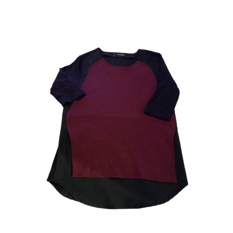 Top, tee-shirt THE KOOPLES Noir et bordeaux