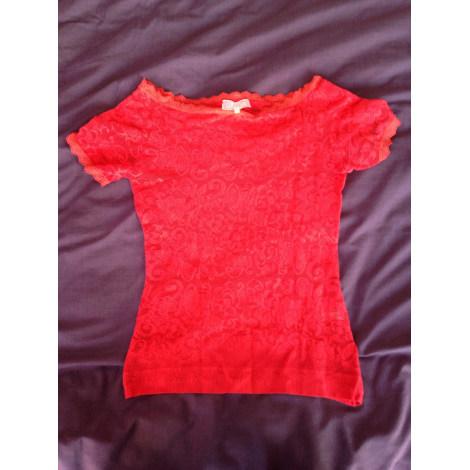 Top, tee-shirt PAIN DE SUCRE Rouge corail