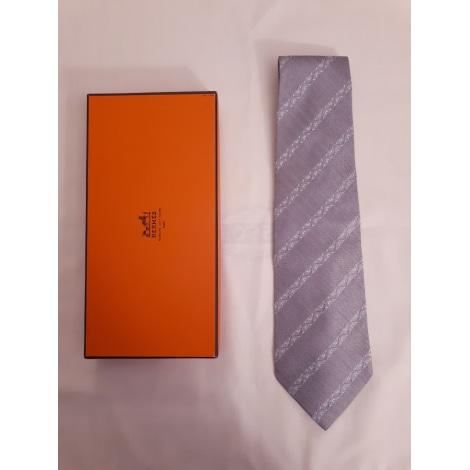 Cravate BALMAIN Argenté, acier